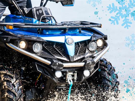 Les VTT CFMOTO ont la cote sur les sentiers de Quad du Québec… même l'hiver !