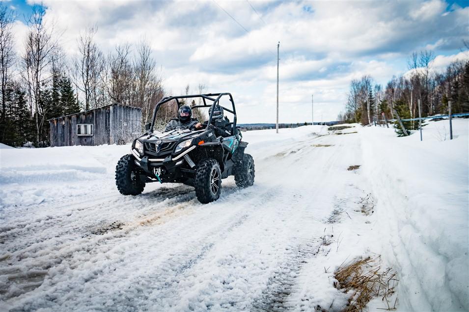 La «Route du Quad» un circuit accessible en VTT et Côte à Côte au Québec