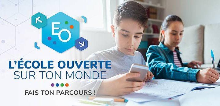 L'école ouverte est en ligne !